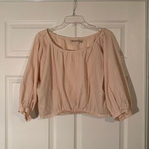Anthropologie Off The Shoulder Blouse